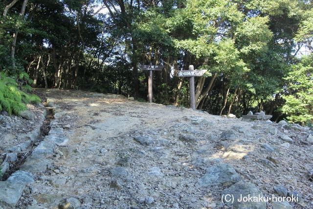 金田 城跡